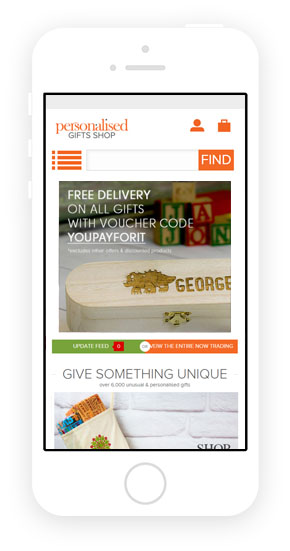 Responsive theme for Magento