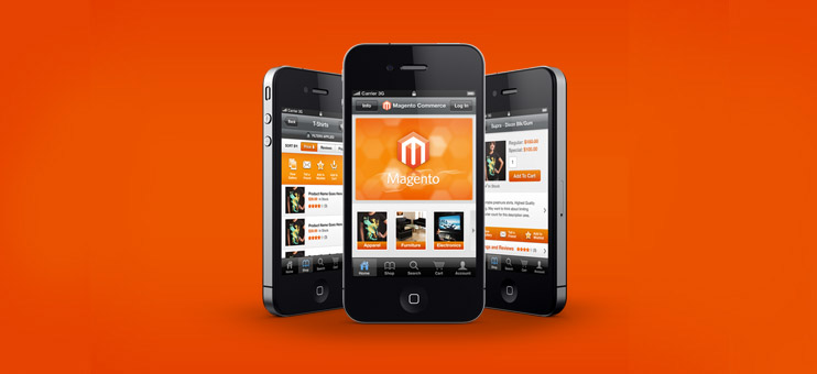 Manual activation of the Magento mobile theme